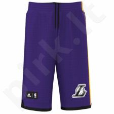 Šortai krepšiniui Adidas Los Angeles Lakers Summer Run Non Junior AJ1972