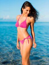 Maudymosi bikinis moterims BASIC 2304 43 42B pink