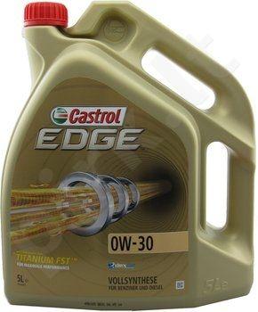 Variklio alyva CASTROL EDGE FST TITANIUM 0W30 5L
