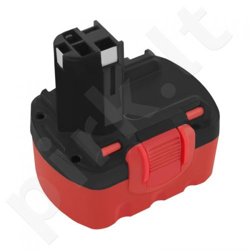 Qoltec Power tools battery for Bosch GSR 14, 4VE-2 | 3000mAh | 14,4V