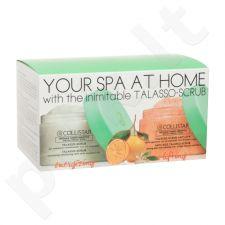 Collistar Jūsų SPA namuose rinkinys moterims, (kūno pilingas Talasso-Scrub 150 g + skrabas prieš senėjima 150 g)