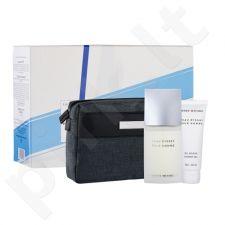 Issey Miyake L´Eau D´Issey rinkinys vyrams, (EDT 125ml + 75ml dušo želė + kosmetikos krepšys) [pažeista pakuotė]