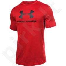 Marškinėliai treniruotėms Under Armour Sportstyle Branded M 1294251-600