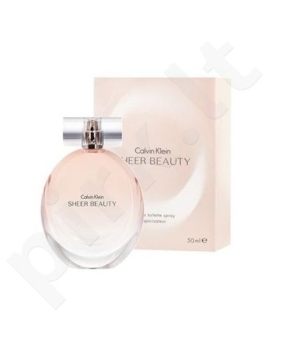Calvin Klein Sheer Beauty, tualetinis vanduo moterims, 50ml
