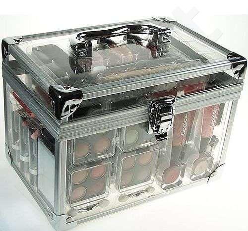 Pilnas dekoratyvinės kosmetikos rinkinys Makeup Trading Schmink Set Transparent, 64,8