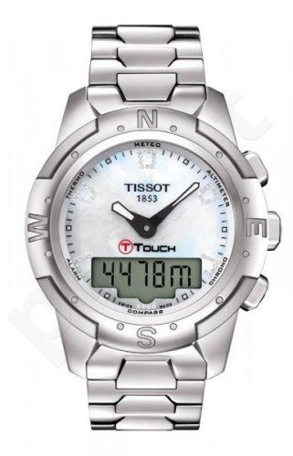 Moteriškas laikrodis Tissot T-Touch II T047.220.44.116.00
