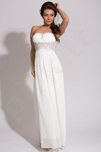 EVA&LOLA suknelė - balta 9610-5
