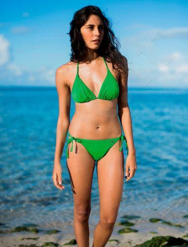 Maudymosi bikinis moterims BASIC 2304 60 42B green