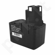 Qoltec Power tools battery for Bosch 3300k PSR 12VE-2 | 2000mAh | 12V