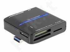 Kortelių skaitytuvas Tracer All-In-One C35 USB 3.0