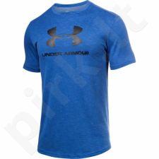 Marškinėliai treniruotėms Under Armour Sportstyle Branded M 1294251-789