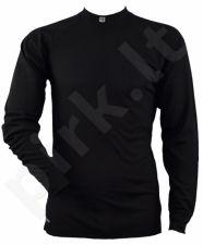 Termo marškinėliai 29308 20 L black ilg. rankov.