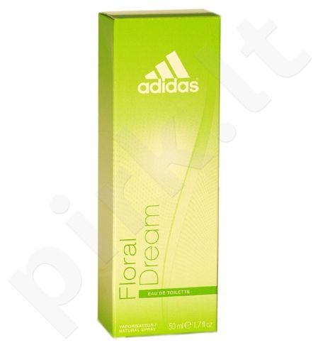 Adidas Floral Dream For Women, tualetinis vanduo moterims, 50ml