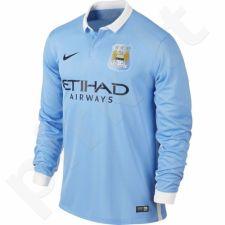 Marškinėliai futbolui Nike Manchester City FC Home Stadium M 658878-489