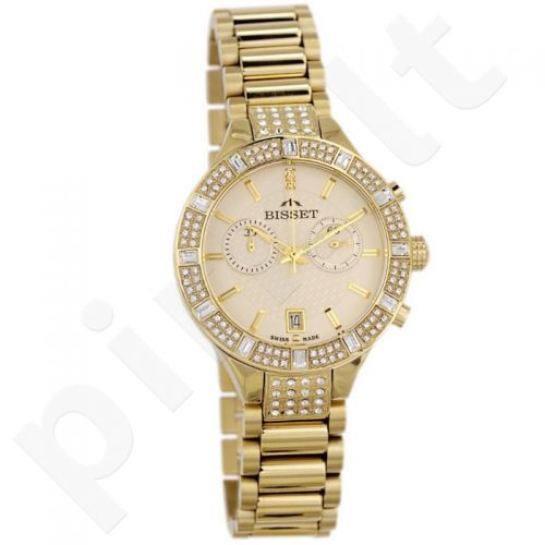 Moteriškas laikrodis BISSET Angel BSBE18GIGX05AX