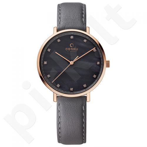 Moteriškas laikrodis OBAKU OB V186LXVJRJ