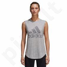 Marškinėliai treniruotėms adidas Winners M Tee W CF7077
