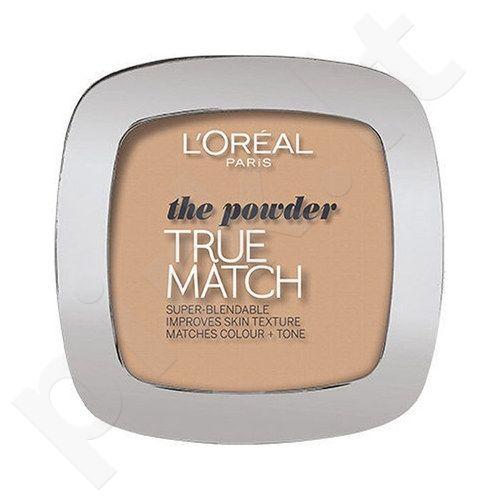 L´Oreal Paris True Match Super Blendable kompaktinė veido pudra, kosmetika moterims, 9g, (D5-W5 Golden Sand)