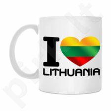 """Puodelis """"I love Lithuania"""""""