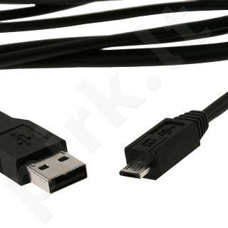 Kabelis LogiLink Micro USB2.0, 1,8m