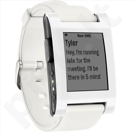 Pebble Smartwatch White