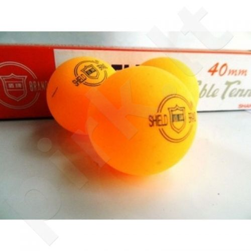 Stalo teniso kamuoliukai Shield 6 vnt