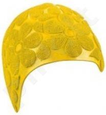 Kepuraitė plauk. mot. gum. MOULDED 7410 2 yellow