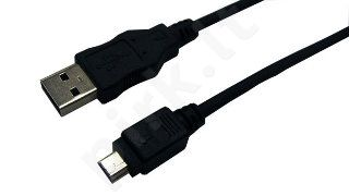 Kabelis LogiLink mini USB2.0 CANON, 2m