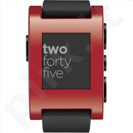 Pebble Smartwatch Red