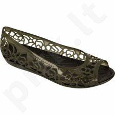 Basutės Crocs Isabella Jelly Flat W 203285 juodas