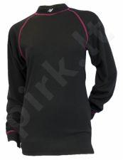 Termo marškinėliai 29308 210 M black/pink ilg. ran