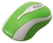 Mini optinė pelė LogiLink Žalia
