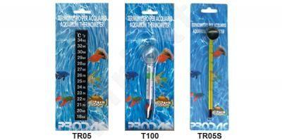 PRODAC termometras stiklinis T100