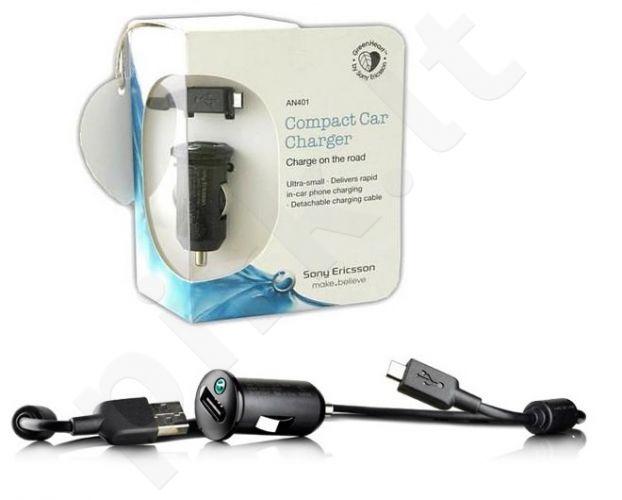 Sony AN401+ EC450 automobilinis įkroviklis USB universalus juodas
