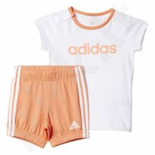Komplektas Adidas Summer Easy Girls Set Kids AK2611