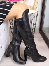 Ilgaauliai odiniai batai Juma