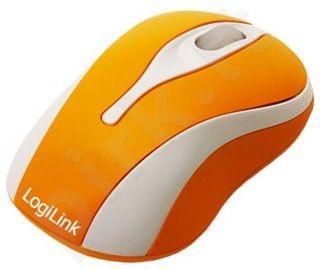 Mini optinė pelė LogiLink Oranžinė