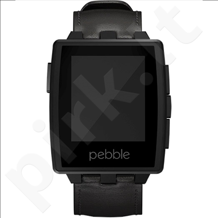 Pebble Steel Smartwatch Matte Black