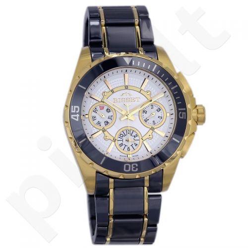 Vyriškas laikrodis BISSET Solaris BSFD97GISX10BX