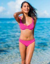 Maudymosi bikinis moterims BASIC 2306 43 44 pink