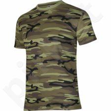 Marškinėliai Adler Camouflage M žalia