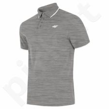 Marškinėliai 4F M H4L19-TSM024 27M pilkas