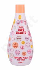 Swizzels Love Hearts, Perfectly Peach, dušo želė vaikams, 400ml