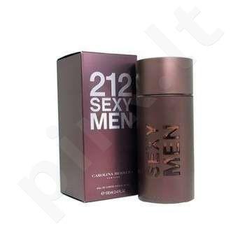 Carolina Herrera 212 Sexy, tualetinis vanduo (EDT) vyrams, 50 ml