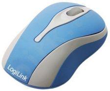 Mini optinė pelė LogiLink Mėlyna