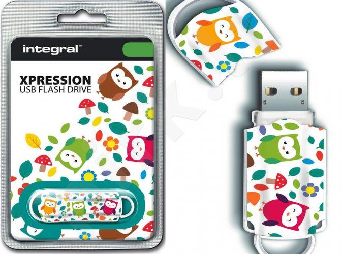 Atmintukas Integral Xpression Birds 16GB