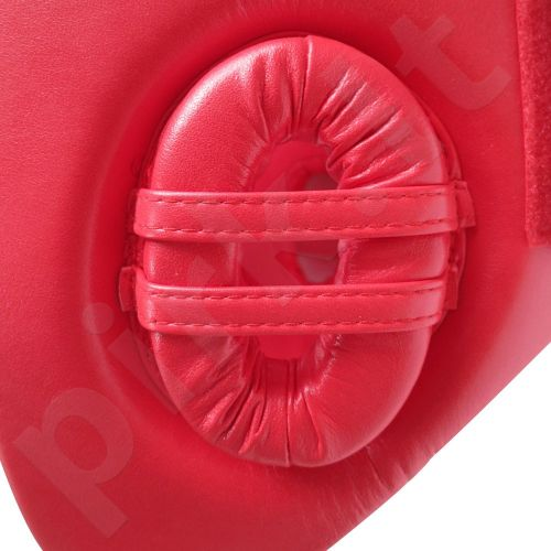 Bokso šalmas AIBA raudonas M