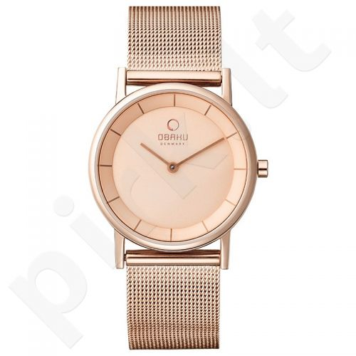 Moteriškas laikrodis Obaku V143LXVVMV