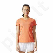 Marškinėliai treniruotėms adidas Feminine Tee W BR9840