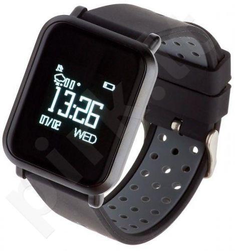 Smartwatch, Zegarek Sportowy Garett Sport 17 Czarno - Szary